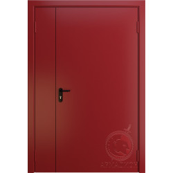 Противопожарная двустворчатая дверь EI 60 РАЛ 3002