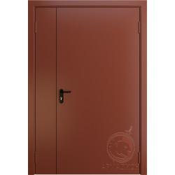 Противопожарная двустворчатая дверь EI 60 РАЛ 8004