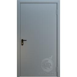 Противопожарная одностворчатая дверь EI 60 РАЛ 7001