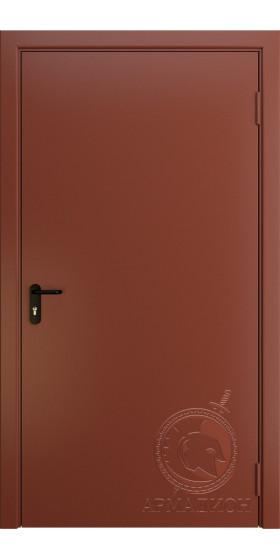 Противопожарная одностворчатая дверь EI 60 РАЛ 8004